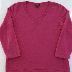 ESCADA 100% Cashmere Fuchsia Sweater Women's Med